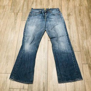 Vintage Y2k 7 For All Mankind Bootcut Made in USA